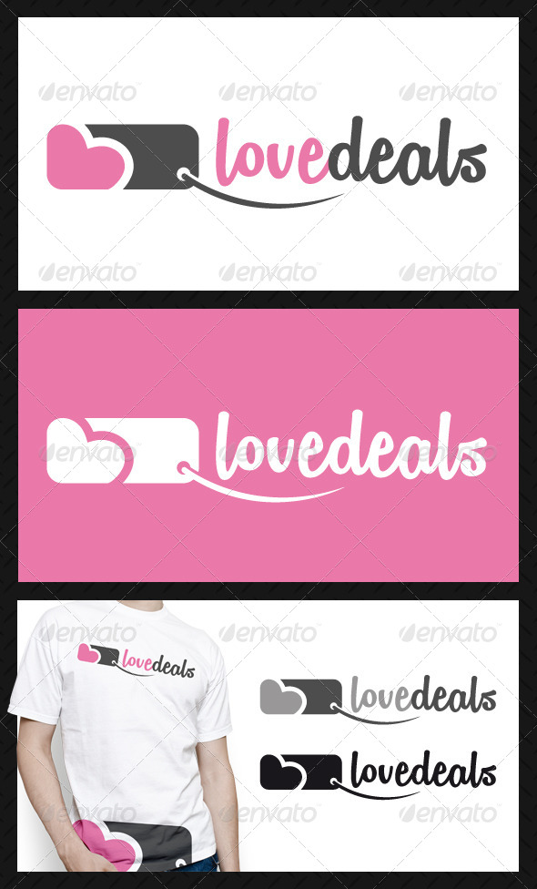 GraphicRiver Love Deals Logo Template 4603303