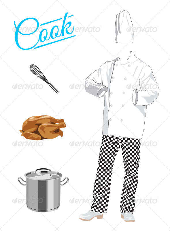 GraphicRiver Cook 4603395
