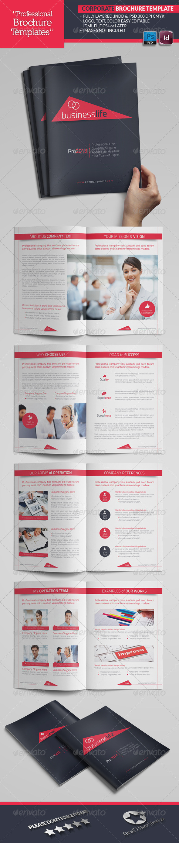 GraphicRiver Corporate Catalogue Template 4529251