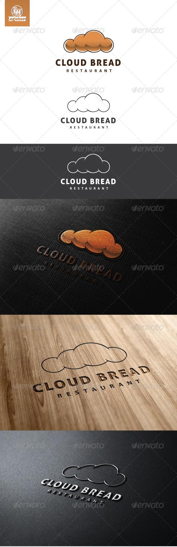 GraphicRiver Cloud Bread Logo Template 4603831