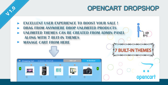 OpenCart DropShop - CodeCanyon Item for Sale