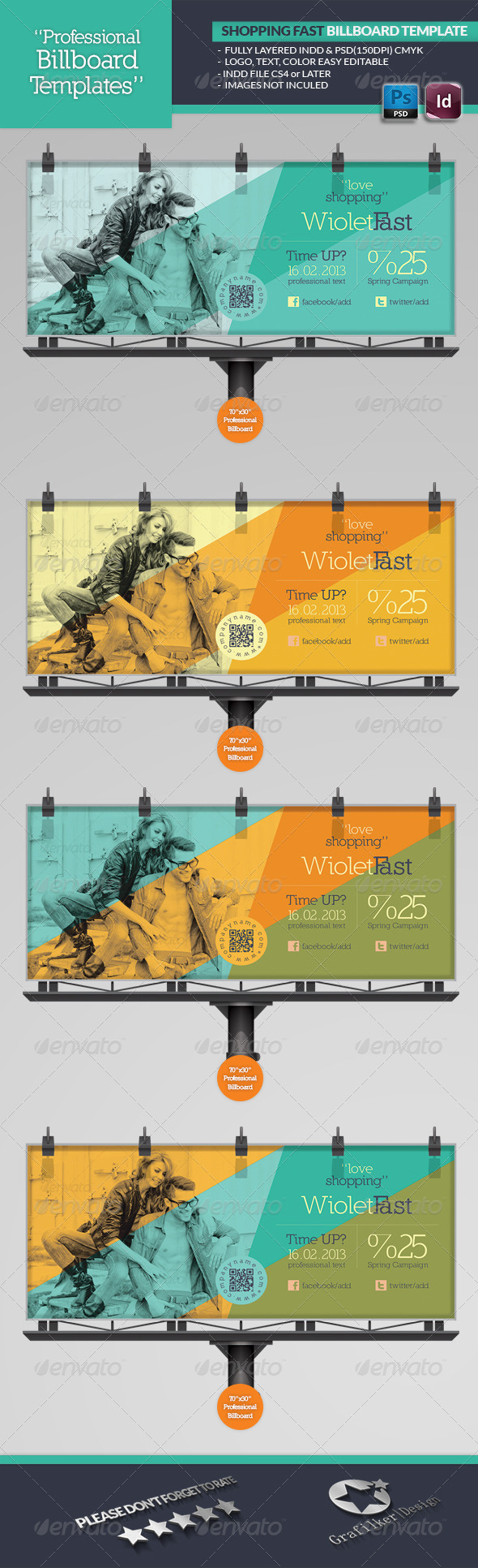 GraphicRiver Shopping Fast Billboard Template 4603887