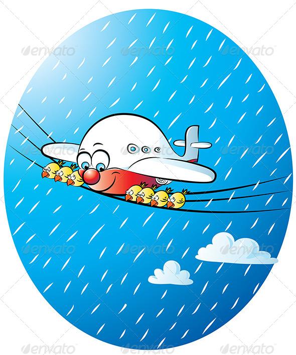 GraphicRiver Jumbo Jet 4603896