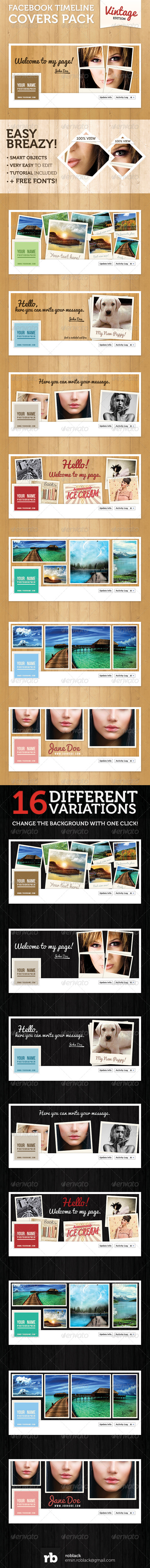 GraphicRiver Fb Timeline Covers Pack #1 4586379