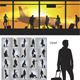 Download Vector People with Travel Bag