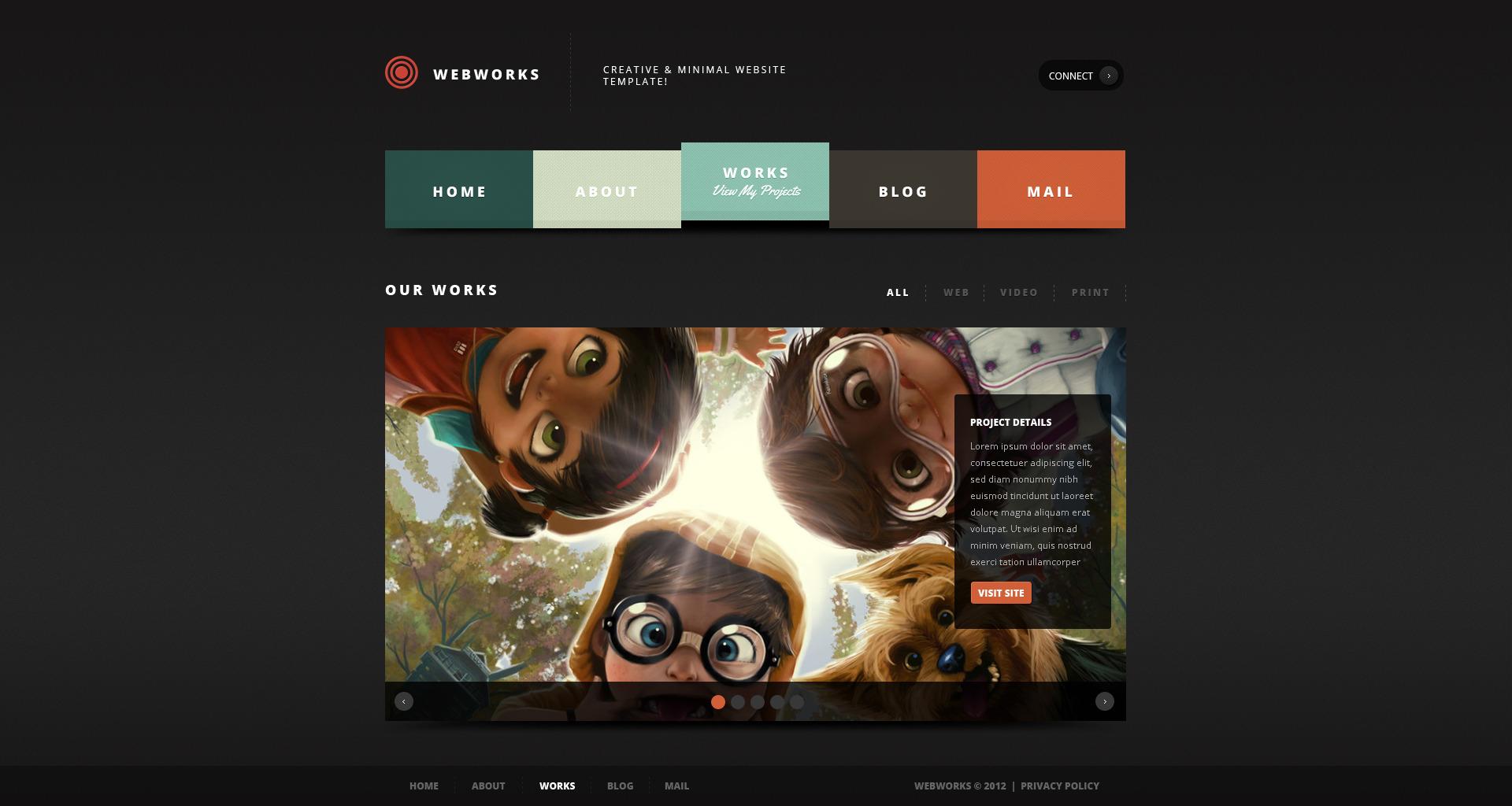 Webworks - Responsive WordPress Theme