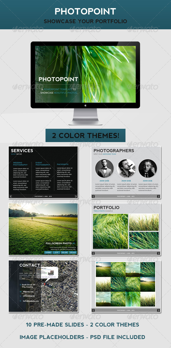 GraphicRiver PhotoPoint PowerPoint Template 4604149