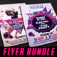 Electro And House Flyer Bundle