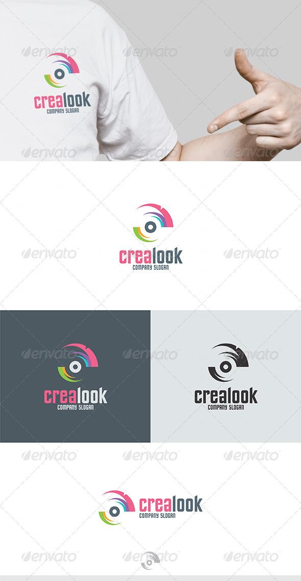 GraphicRiver Crea Look Logo 4604658