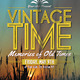 Vintage Time - GraphicRiver Item for Sale