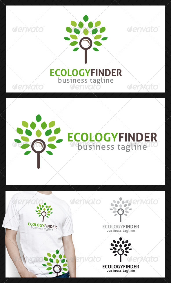 GraphicRiver Eco Finder Logo Template 4605177