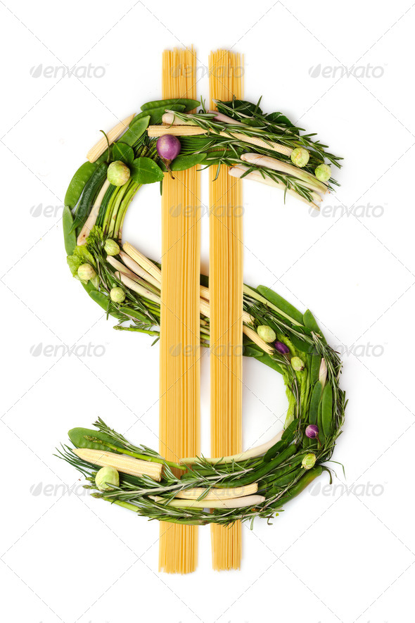 In food we trust. - Stock Photo - Images