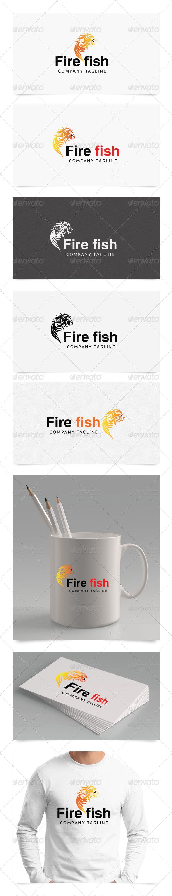 GraphicRiver Fire Fish 4606072