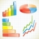 Set of Business Charts - GraphicRiver Item for Sale
