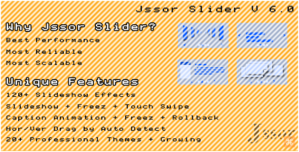 Jssor Slider - 120+ Slideshow Effects Banner Rotator - CodeCanyon Item for Sale