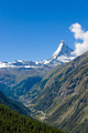 The Zermatt valley in Switzerland  - PhotoDune Item for Sale