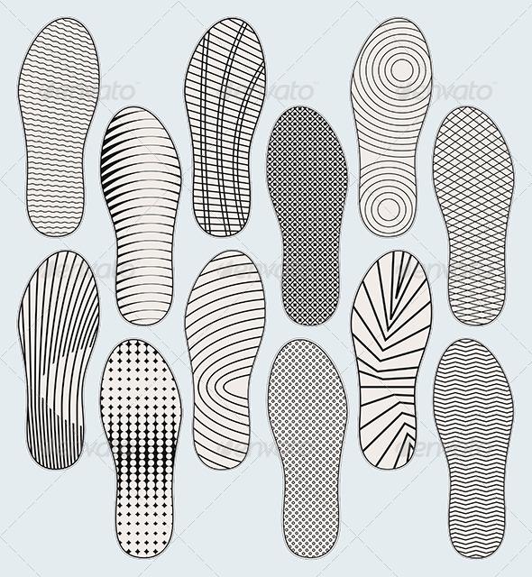 GraphicRiver Shoe Soles 4607642