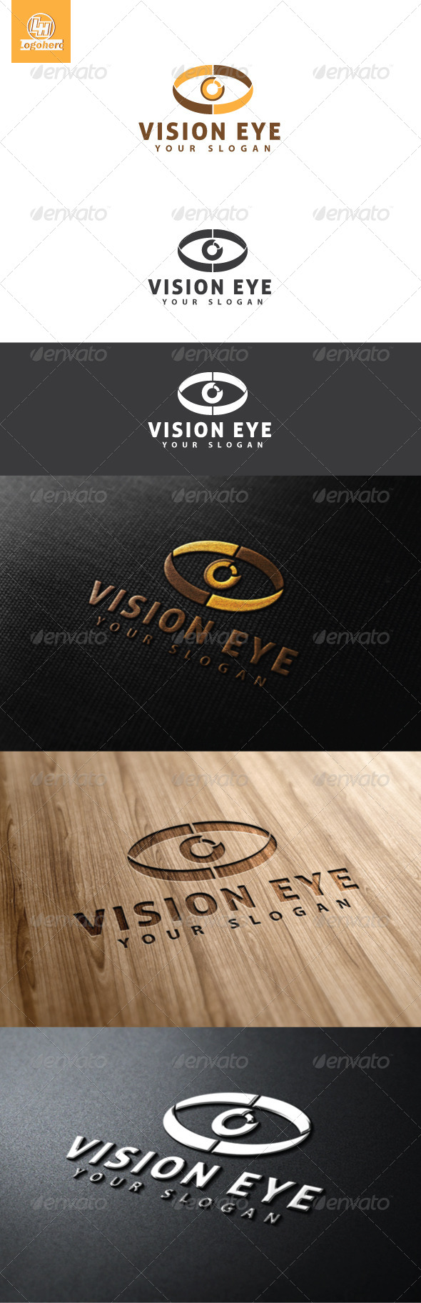 GraphicRiver Vision Eye Logo Template 4607979