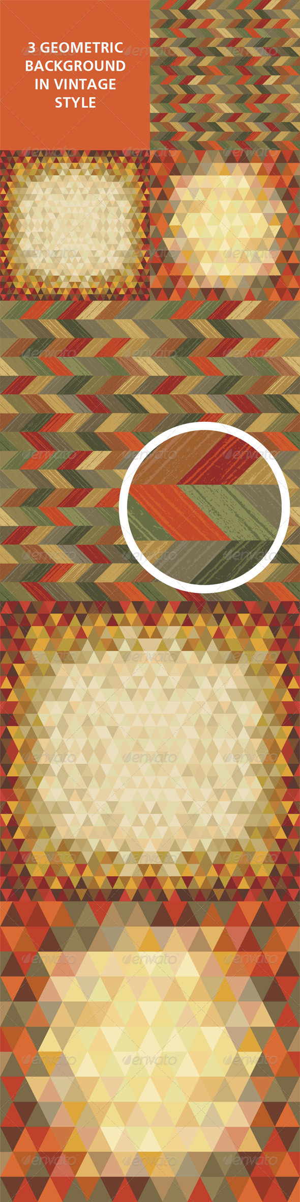 Geometric Background Vector 01 - Backgrounds Decorative
