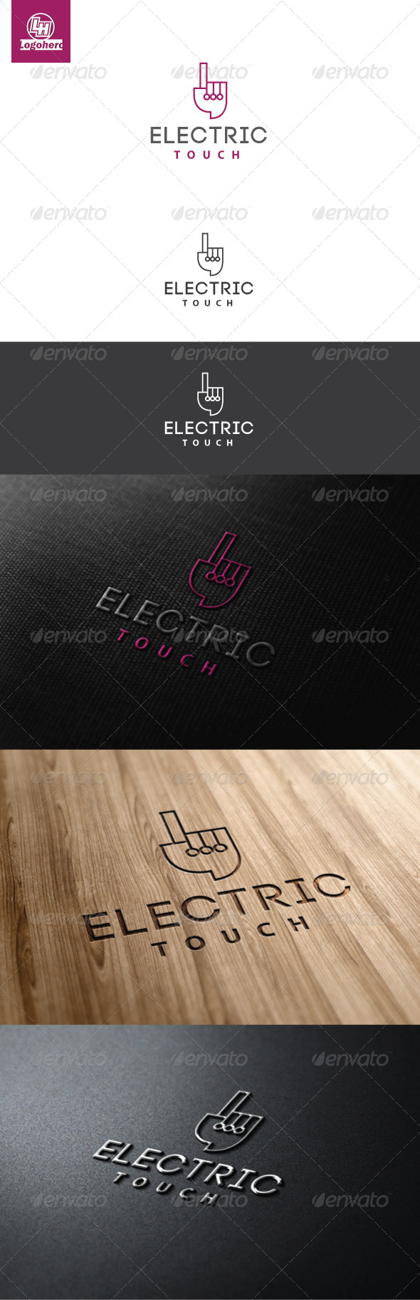 GraphicRiver Electric Touch Logo Template 4608241