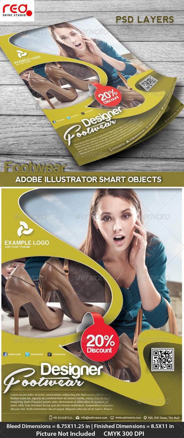 GraphicRiver Fashion Flyer Poster & Magzine 4610415