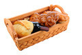 Basket of Bread and Wine - PhotoDune Item for Sale