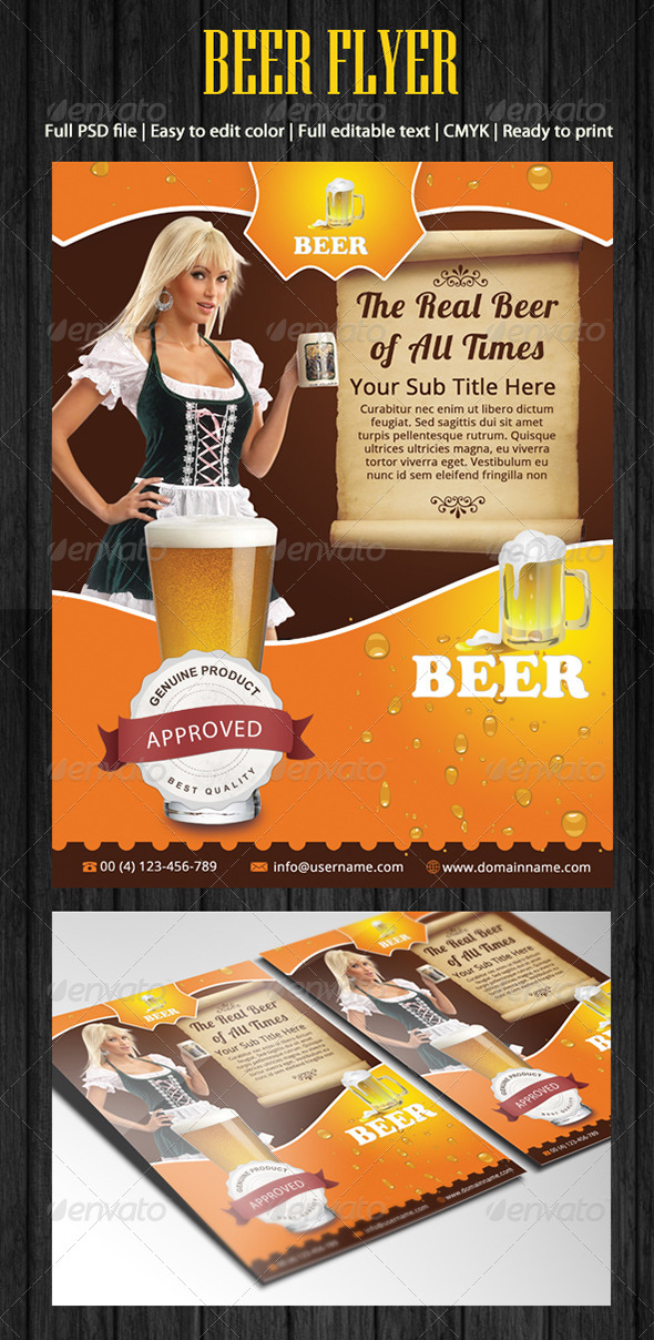 Beer Flyer - Corporate Flyers