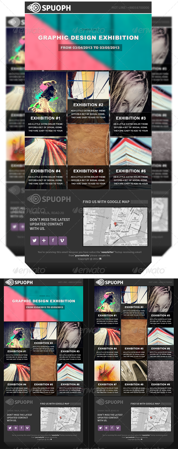 GraphicRiver Spuoph Newsletter 4611057