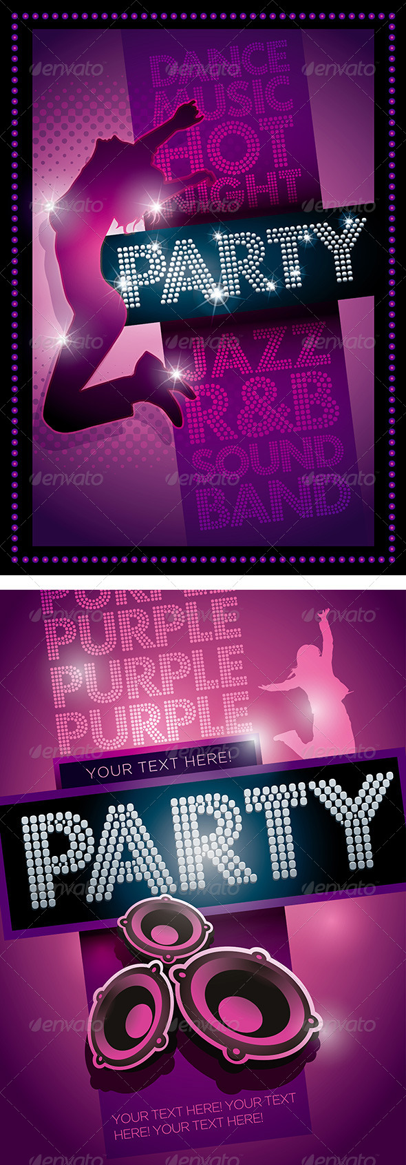 GraphicRiver Party Poster Template 4611166