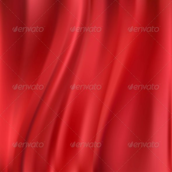 GraphicRiver Abstract Vector Texture Red Silk 4611170