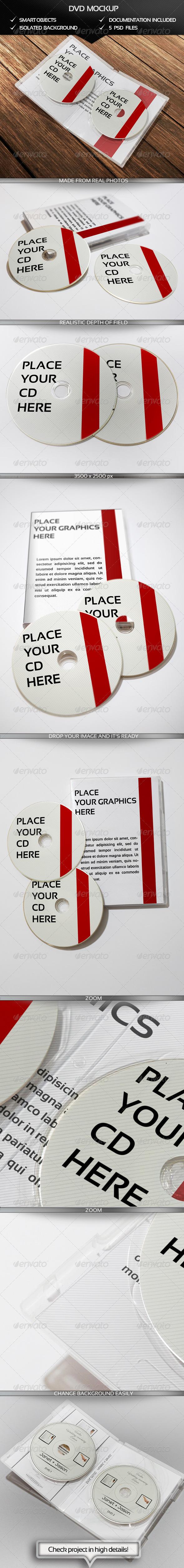 GraphicRiver DVD Mockup 4534121