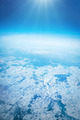 Winter landscape, view from airplane - PhotoDune Item for Sale