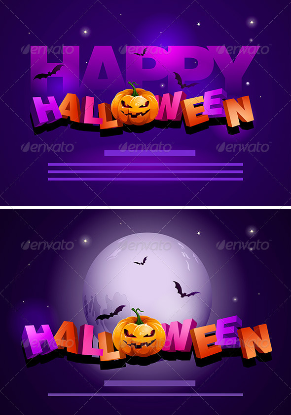 GraphicRiver Halloween Poster Template 4611509