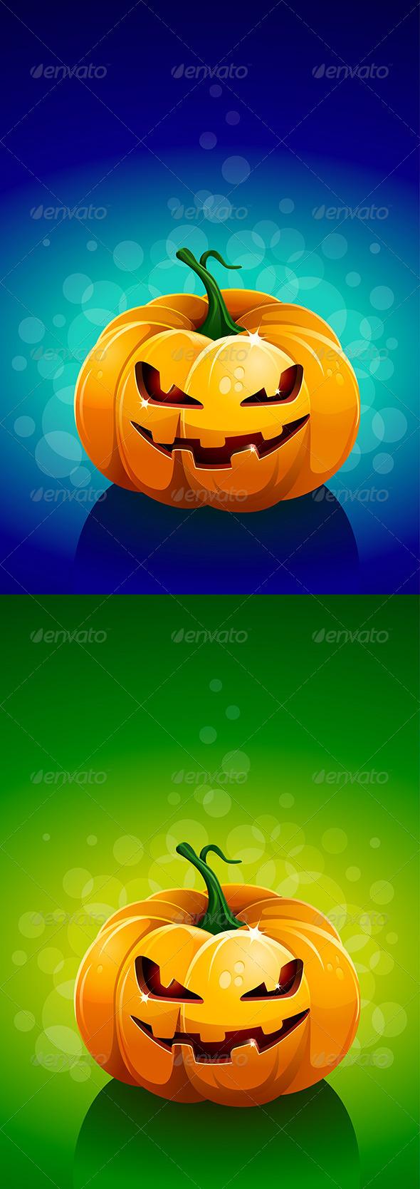 GraphicRiver Smiling Pumpkin 4611522