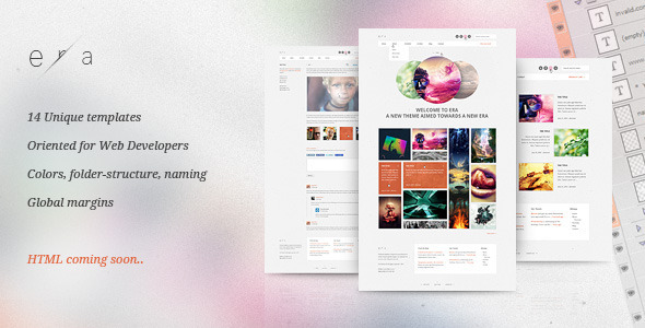 ThemeForest Era PSD Visual Performance 482410