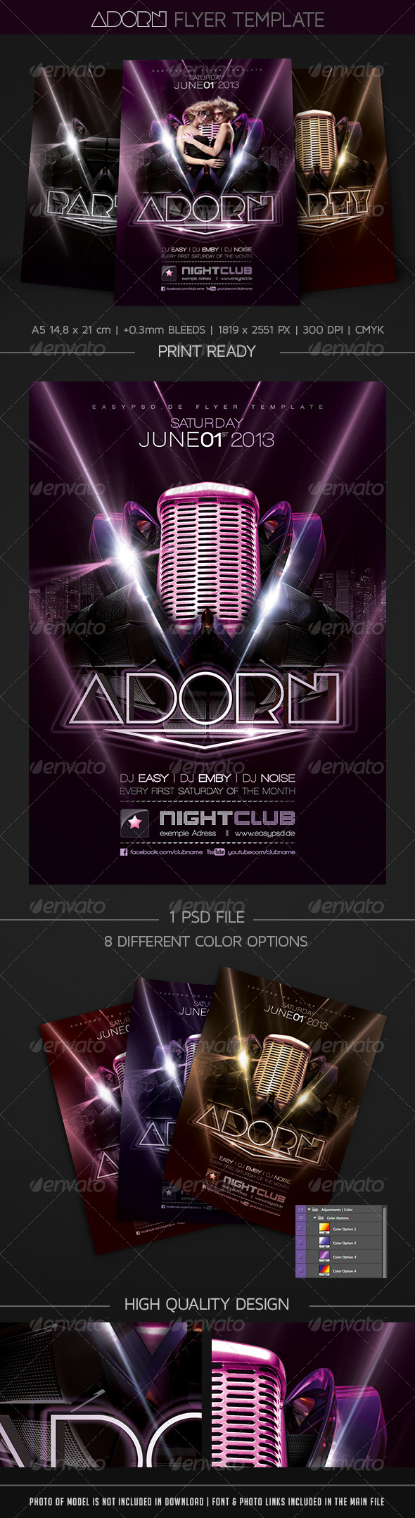 GraphicRiver Adorn Flyer Template 4535397