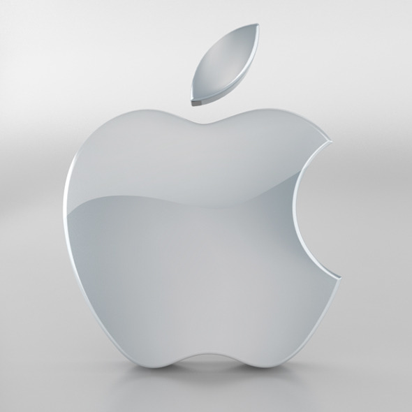 Apple Logo - 3DOcean Item for Sale