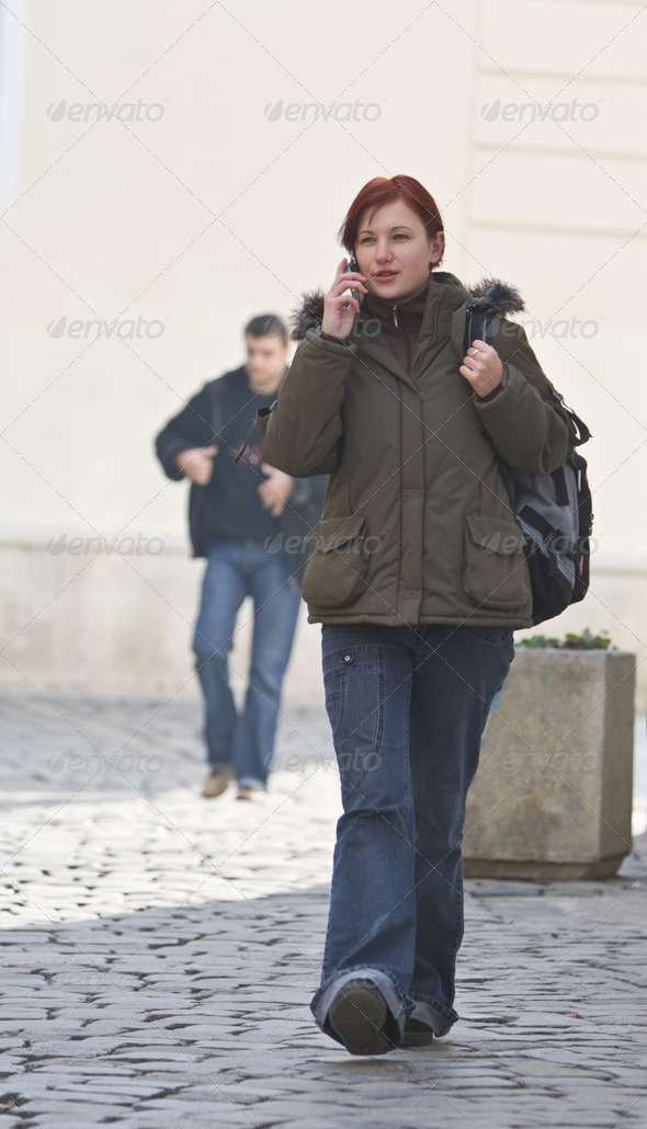 Urban Girl  - Stock Photo - Images