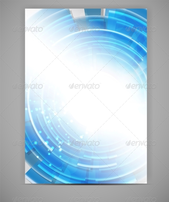 GraphicRiver Business Blank Template Vector Illustration 4612151