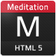 Meditation - HTML5 Template - ThemeForest Item for Sale