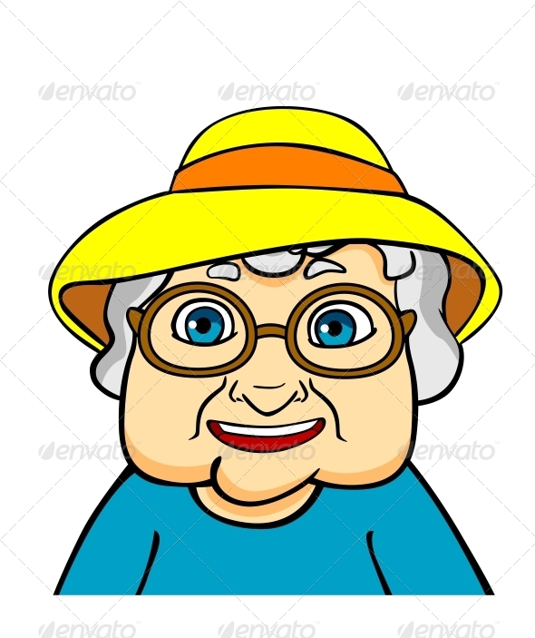GraphicRiver Old Grandmother 4612429