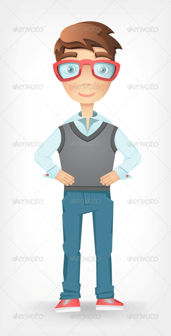 GraphicRiver Funny Guy 4613002