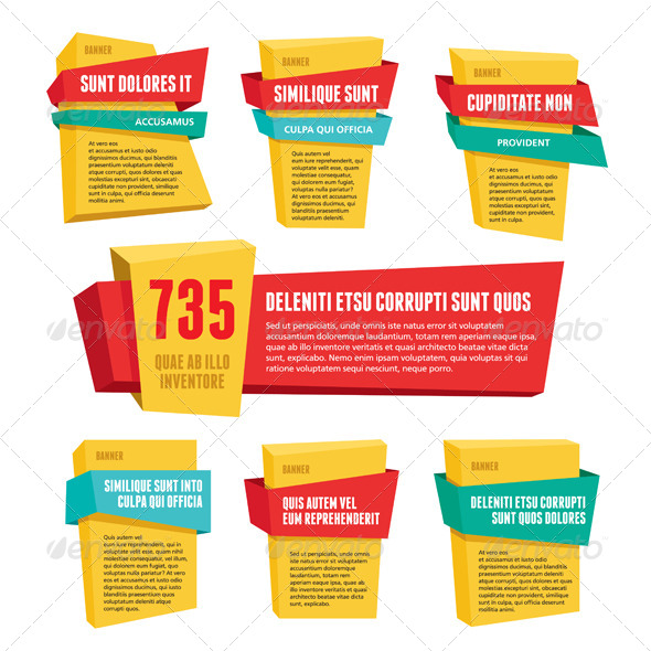 Vector Labels & Banners