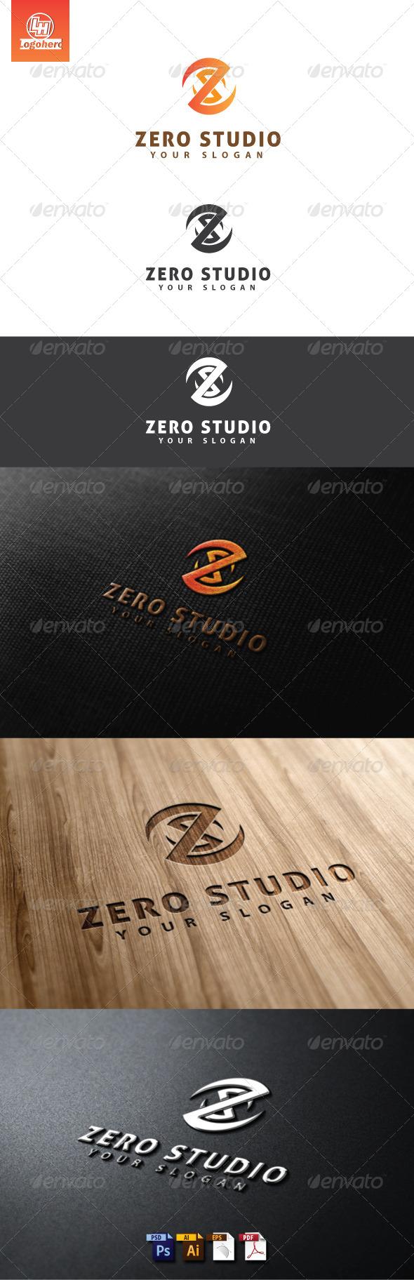 GraphicRiver Zero Studio Logo Template 4613591