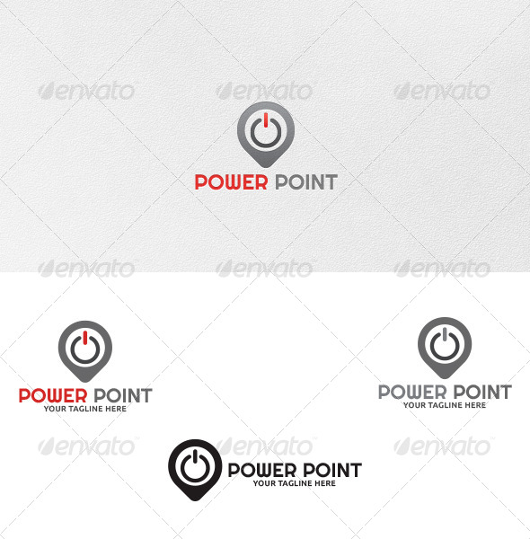 GraphicRiver Power Point Logo Template 4614436