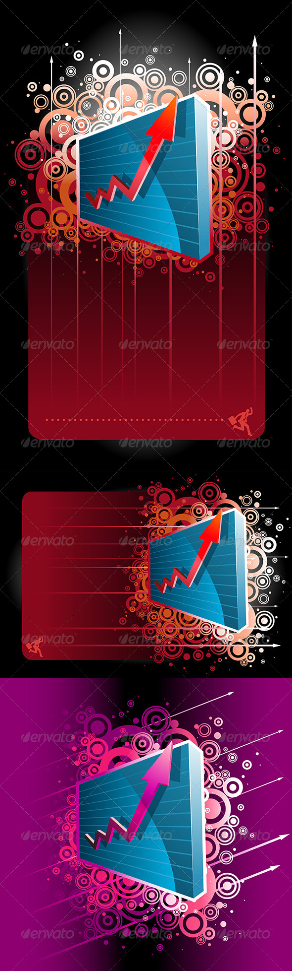 GraphicRiver Abstract Graph Set 4614732