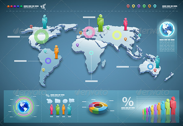 GraphicRiver World Infographics 4614780