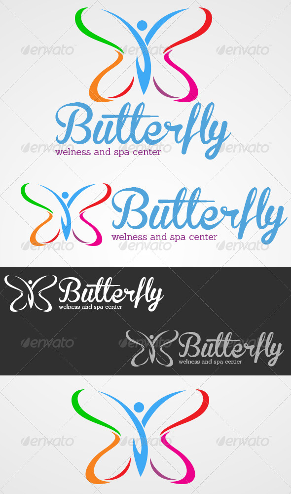 GraphicRiver Butterfly Welness And Spa Center 4599703