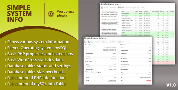CodeCanyon Simple System Info 4616184