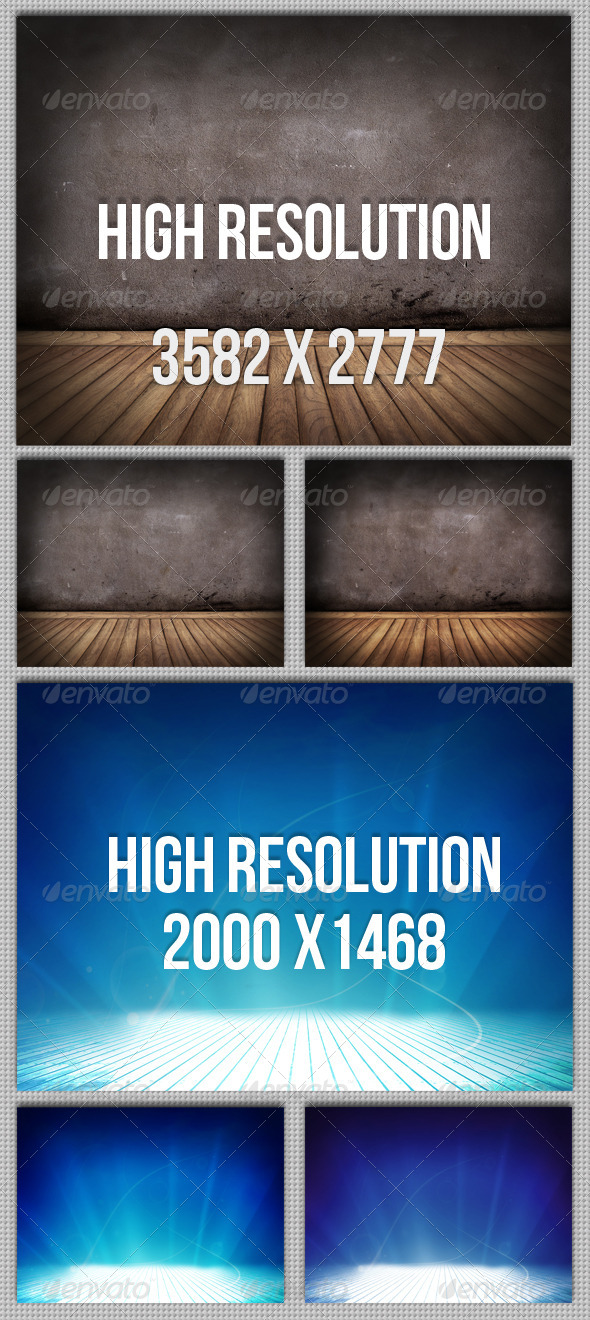 GraphicRiver 6 Floor and Wall Backgrounds 4616507